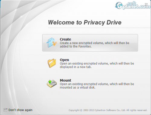 Privacy Drive Screenshot3