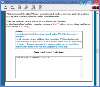 Cover Letter Creator Screenshot3