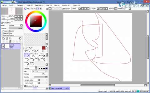 PaintTool SAI Screenshot2