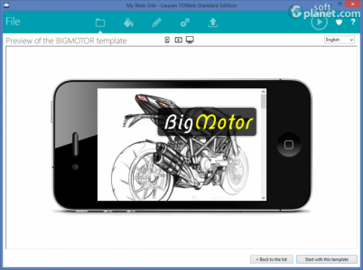 TOWeb Screenshot3