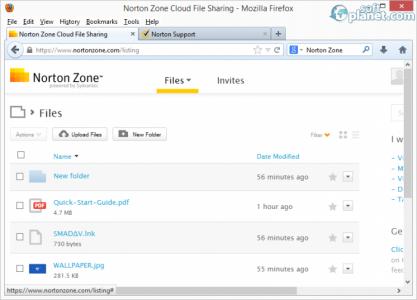 Norton Zone Screenshot2