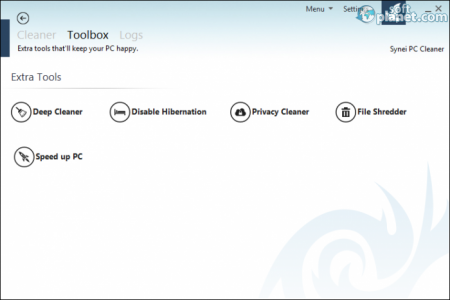 Synei PC Cleaner Screenshot2
