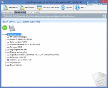 Hard Drive Inspector for Notebooks Screenshot3