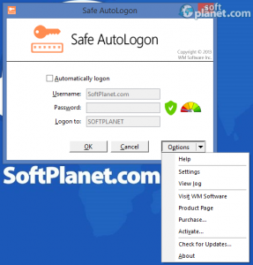 Safe AutoLogon Screenshot2