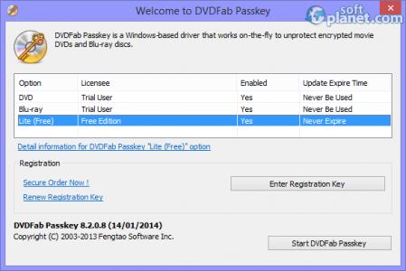 DVDFab Passkey Lite Screenshot5