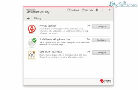 Trend Micro Maximum Security Screenshot3