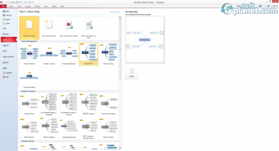 Mindjet MindManager Screenshot2