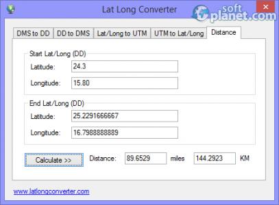 Lat Long Converter Screenshot5