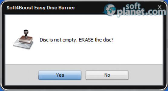 Easy Disc Burner Screenshot5