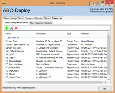 ABC-Deploy Screenshot3