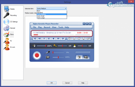 Siglos Karaoke Professional Screenshot3
