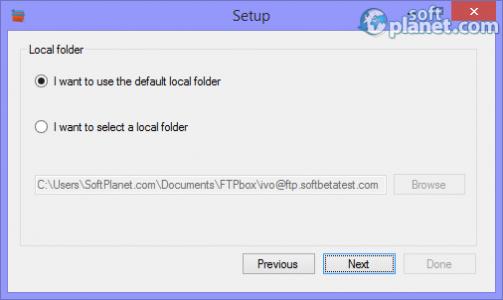 FTPbox Screenshot3
