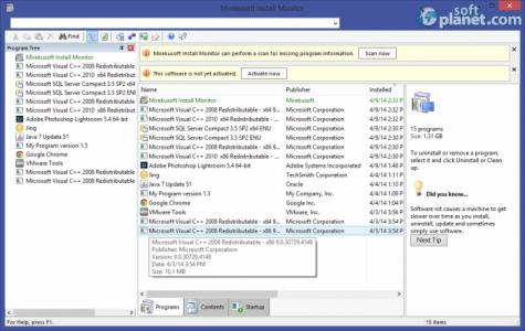 Mirekusoft Install Monitor Screenshot4