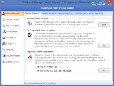 Windows 8 Manager Screenshot4