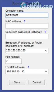 Wake-On-LAN Sender Screenshot2