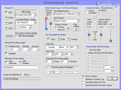 Easy Hi-Q Recorder Screenshot2