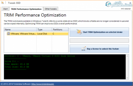 Tweak-SSD Screenshot2
