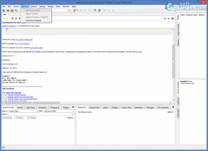 Wing IDE Screenshot2