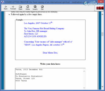 Cover Letter Creator Screenshot2