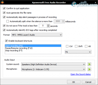Apowersoft Free Audio Recorder Screenshot3