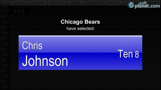 PrimeTime Draft Football 2013 Screenshot3