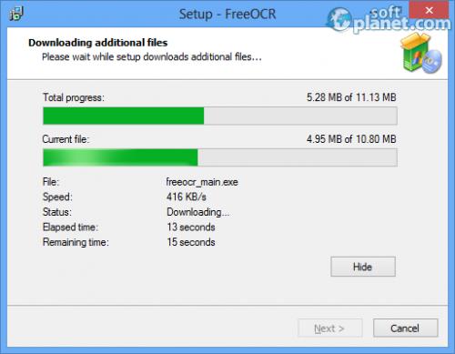 FreeOCR Screenshot2