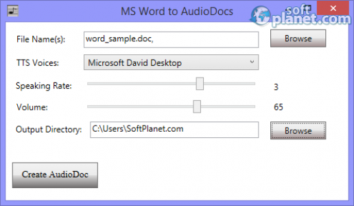 AudioDocs Screenshot2