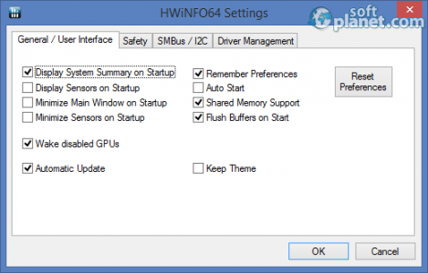 Portable HWiNFO64 Screenshot2