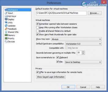 VMware Workstation Screenshot3