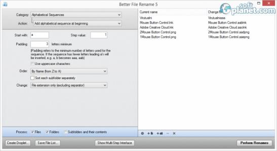 Better File Rename Screenshot2