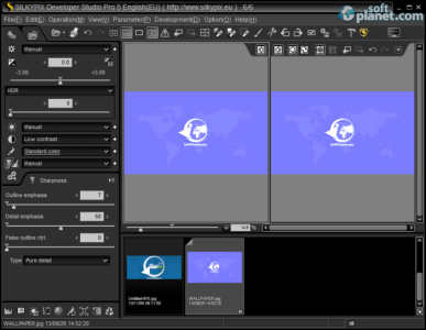 SILKYPIX Developer Studio Pro 5 Screenshot3