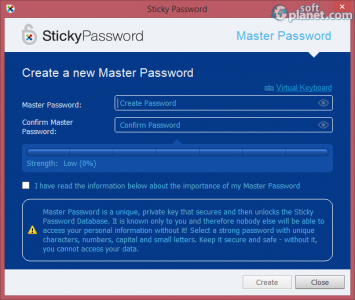 Sticky Password Screenshot2