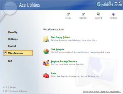Ace Utilities Screenshot4