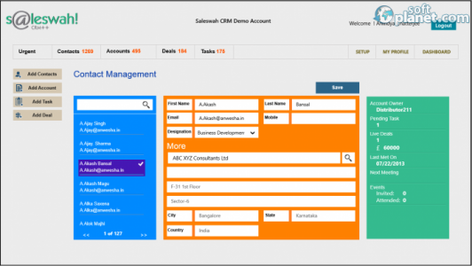 Saleswah Lite CRM Screenshot2