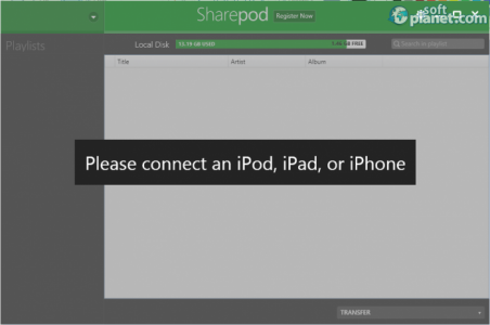 Sharepod Screenshot2