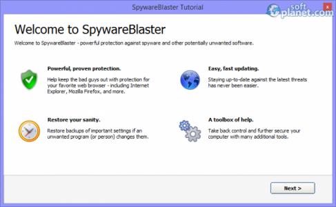 SpywareBlaster Screenshot5