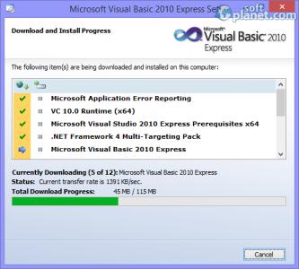 Microsoft Visual Basic Screenshot5