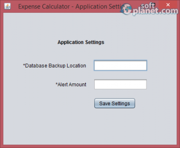 Expense Calculator Screenshot2