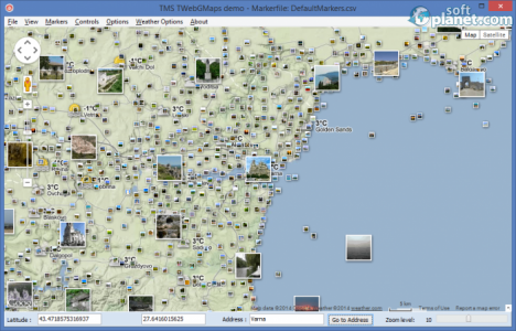 TMS WebGMaps Screenshot4