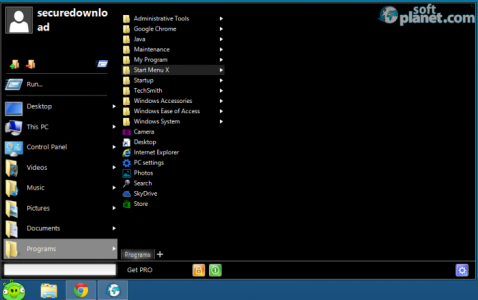 Start Menu X Screenshot5
