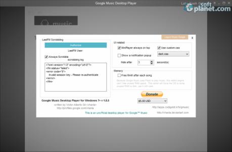 Google Music Desktop Player Screenshot2