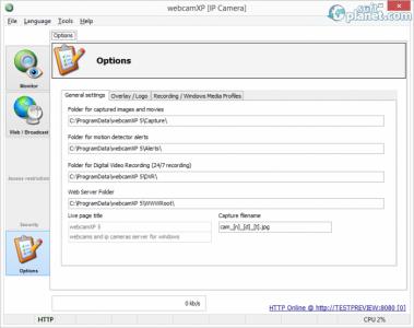 webcamXP Screenshot3