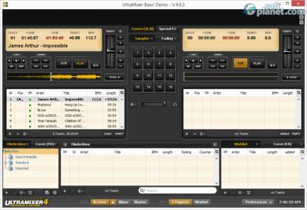 UltraMixer Basic Screenshot3