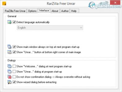 RarZilla Free Unrar Screenshot3
