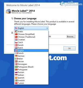 Movie Label 2014 Screenshot5