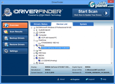 DriverFinder Screenshot3