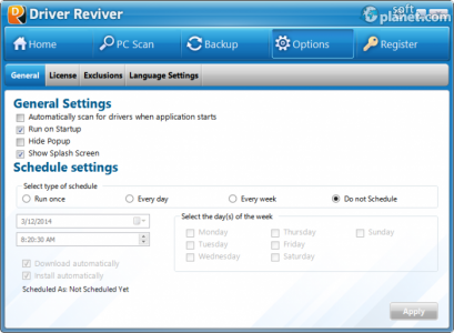 Driver Reviver Screenshot4