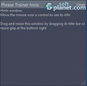 Phrase Trainer Screenshot3