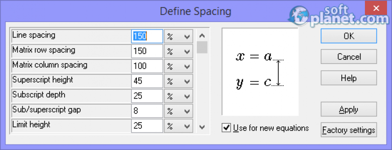 MathType Screenshot2