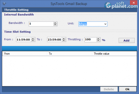 SysTools Gmail Backup Screenshot2
